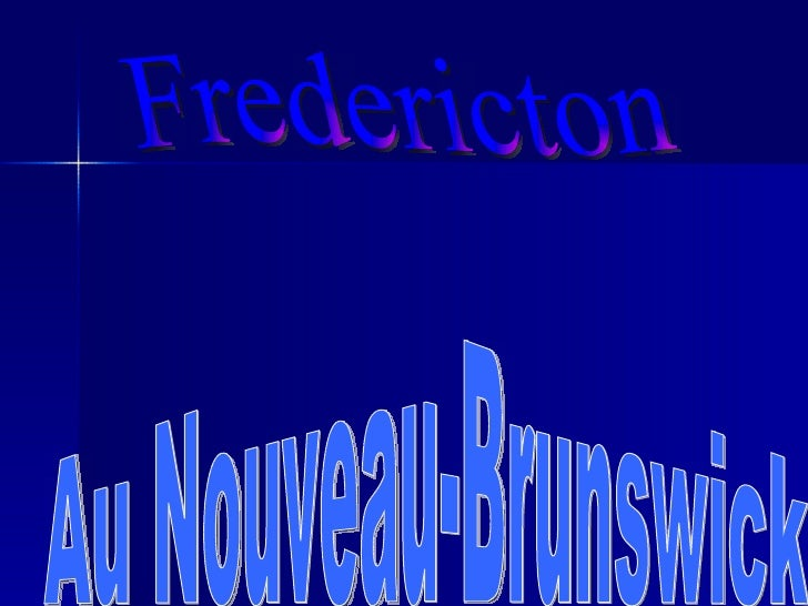 Fredericton Au Nouveau-Brunswick
