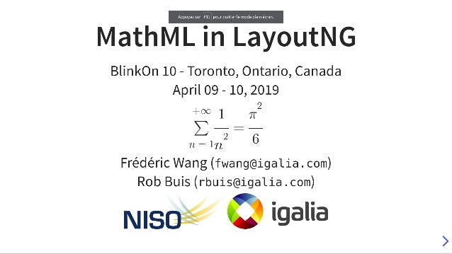 MathML in LayoutNG (BlinkOn 10)