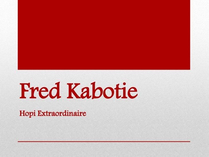 Fred KabotieHopi Extraordinaire