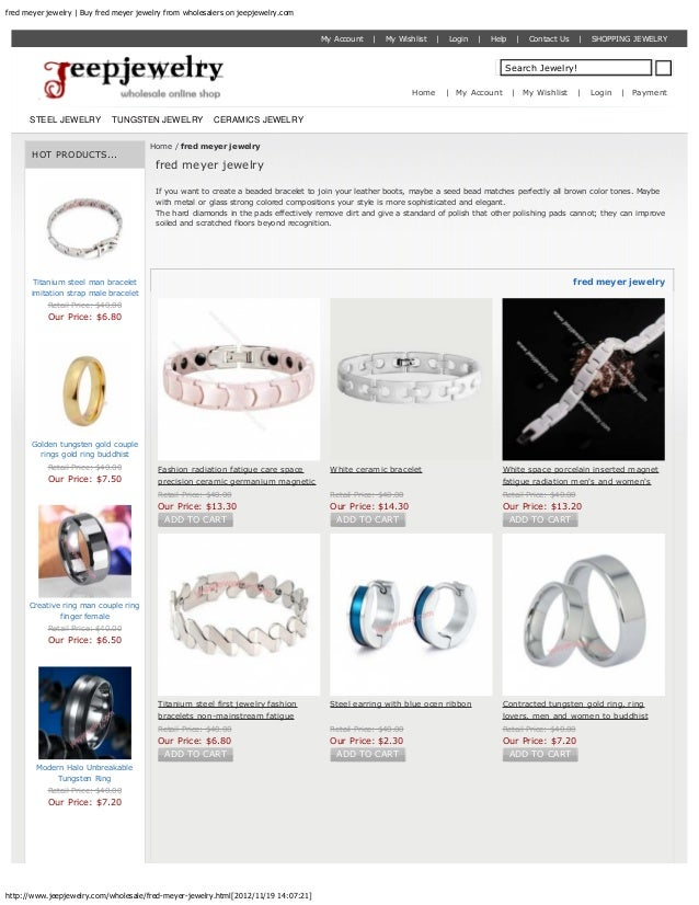 fred meyer jewelry | Buy fred meyer jewelry from wholesalers on jeepjewelry.com                                           ...
