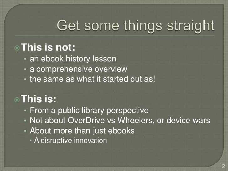 'ebooks and public libraries presentation' at Hikuwai Weekend School Slide 2