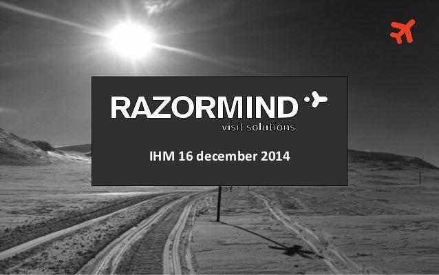 IHM 16 december 2014