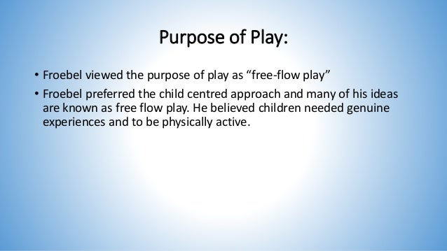 child centred approach - piaget's theory was a child centred approach with the assumption that children don't need to be taught as learning was due to be drawn into experiences.