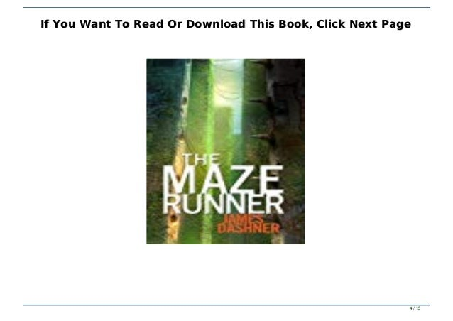the maze runner full book free download