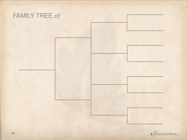 free family tree chart