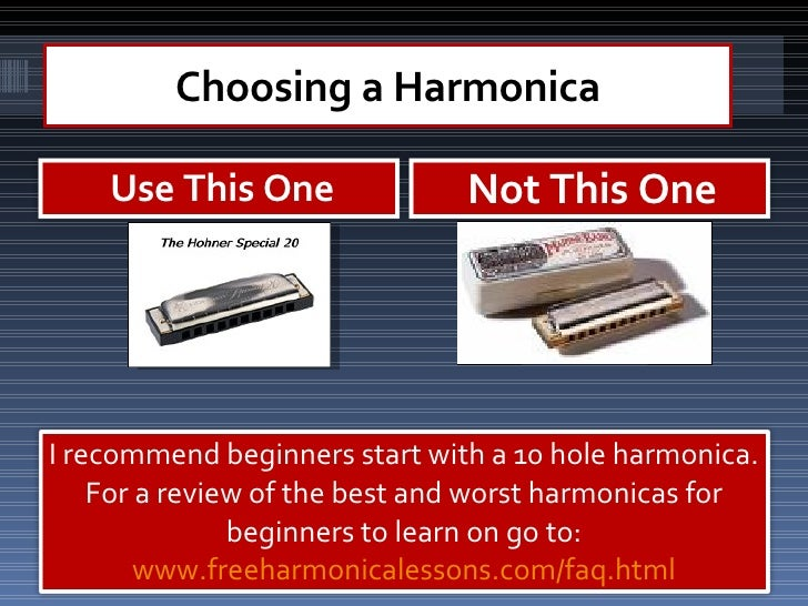 how to play the harmonica for beginners free