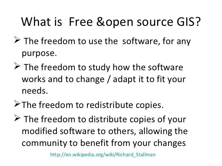 Free Open Source Gis