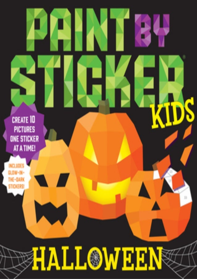 Halloween 2020 Novelization Mobilism Free pdf book for download Paint by Sticker Kids: Halloween English v…