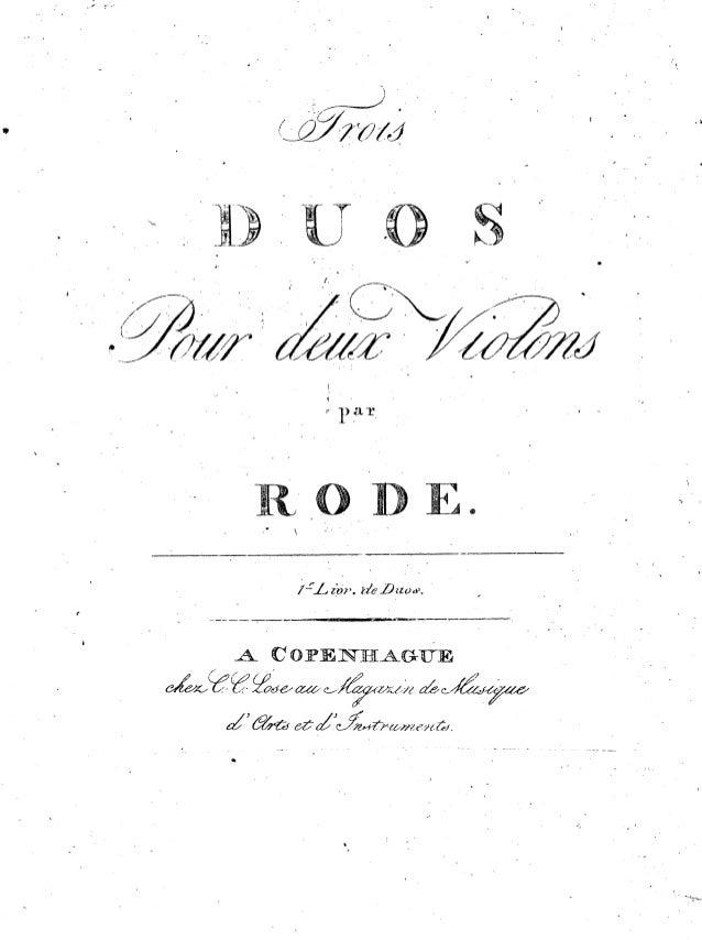 [Free scores.com] rode-pierre-duos-pour-violons-livre-duos-complete-parts-66785
