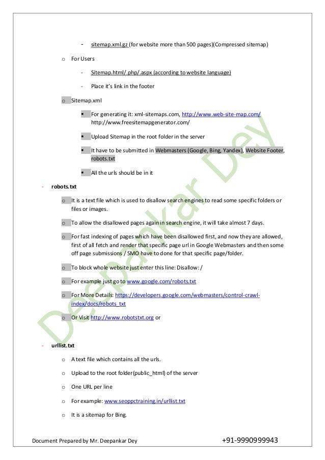 free seo training online tutorial