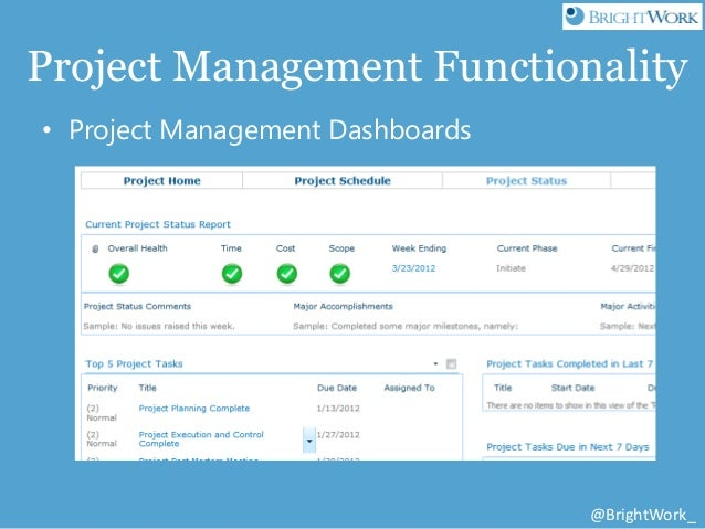 Free sharepoint project management templates from brightwork and atid 23 pronofoot35fo Gallery