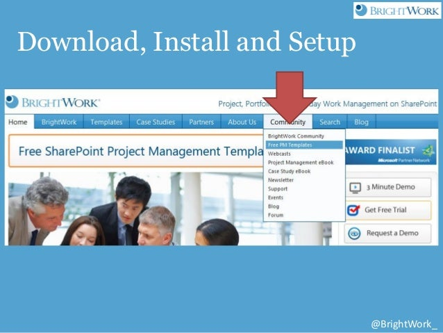 Free SharePoint Project Management Templates from BrightWork and Atid…