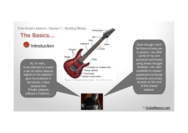 Absolute Super Beginner Guitar Lesson Your First Guitar ...