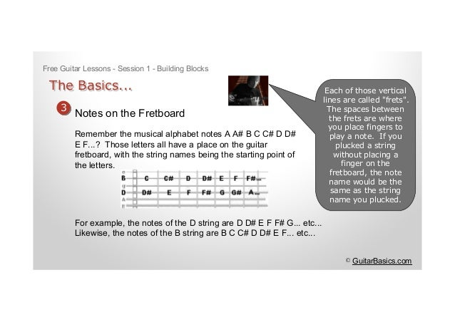 Free guitar lessons - Learn the basics of how to play chords and arpe…