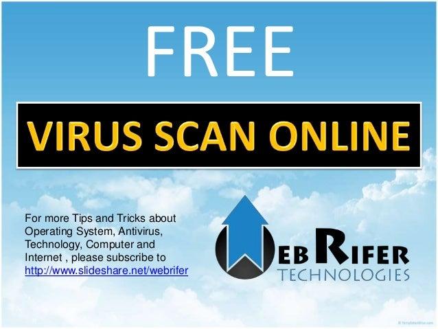 online virus scanner
