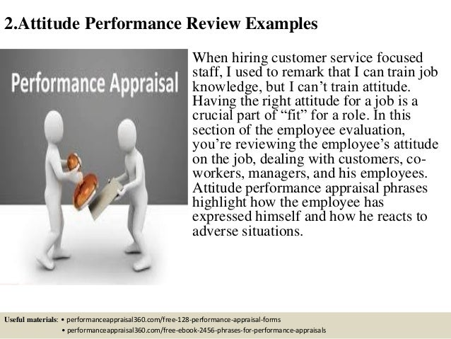 free 350 performance review phrases