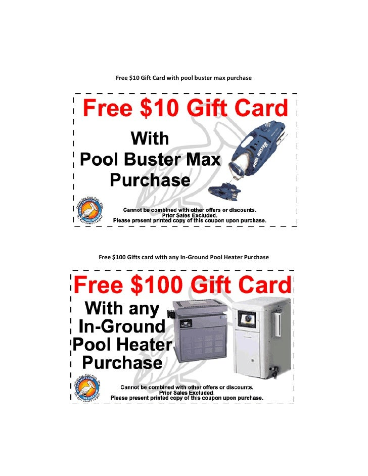 f3a15cb34f8 Free $ 50 gift card with every purchase of pool, auto vaccum, in grou…