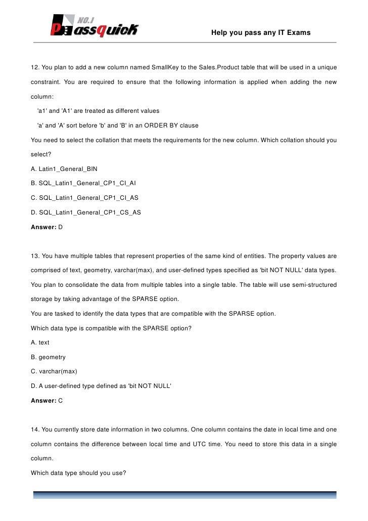 PDF Braindumps