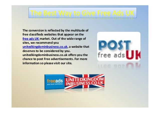 free classifieds uk