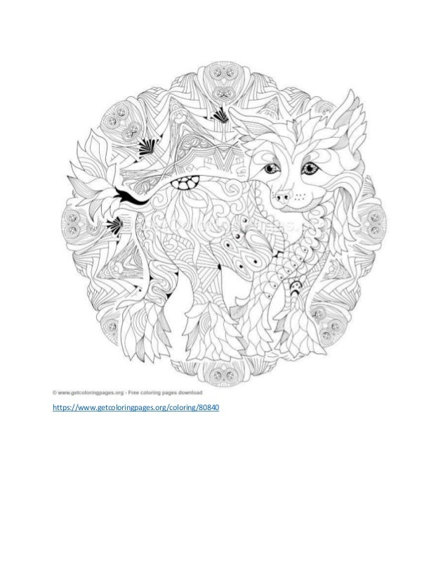 Animal Mandala Coloring Pages - Best Coloring Pages For Kids | 826x638
