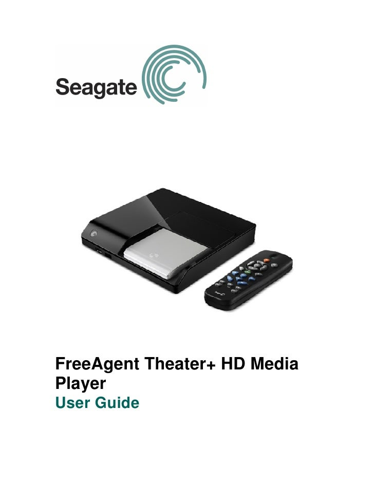 FreeAgent Theater+ HD Media Player User Guide