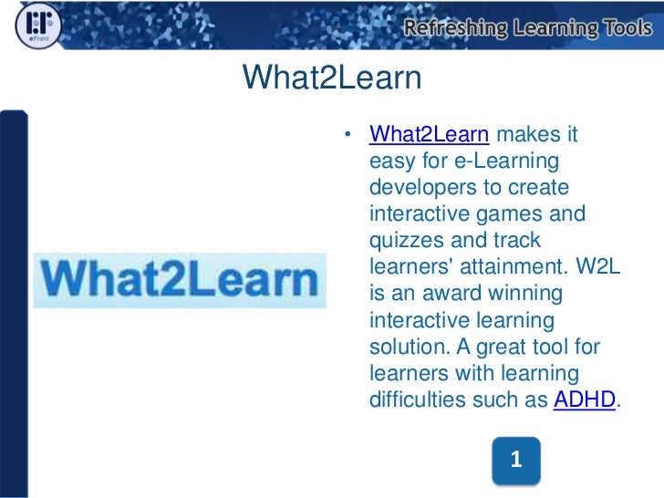 Free and Open Source Authoring Tools for e-Learning  Slide 3