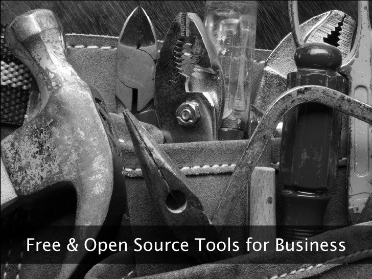 Free & Open Source Tools for Business