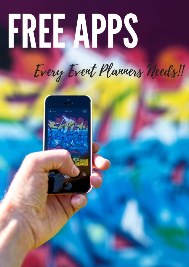 FREE APPS Every Event Planners Needs!!