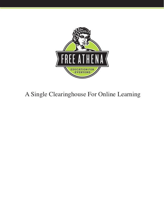 A Single Clearinghouse For Online Learning
