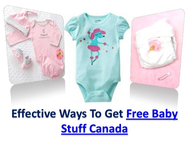 Free Baby Stuff Canada
