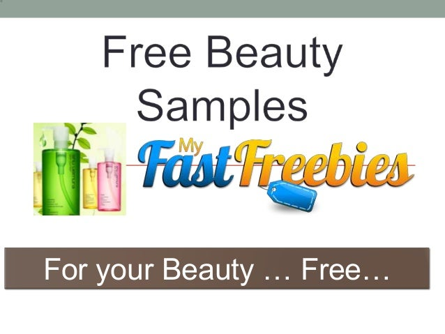 For your Beauty … Free…