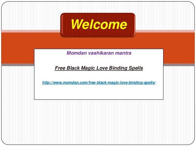 Free black magic love binding spells
