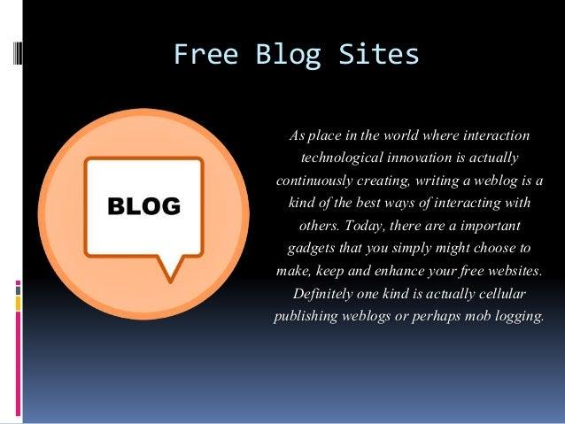 free writing sites