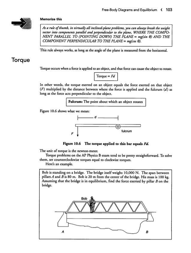 Freebodydiagramsandequilibrium