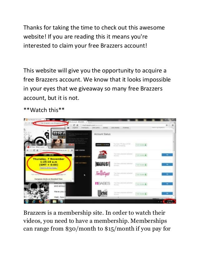 free brazzers website