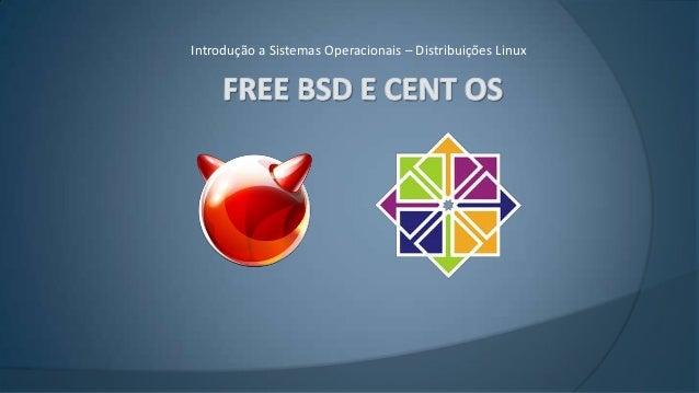 Introdução a Sistemas Operacionais – Distribuições Linux