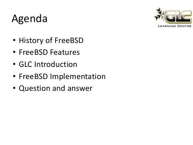 Freebsd, the unknown giant Slide 3
