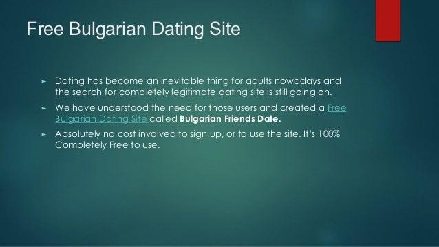 Bulgarian dating sites free