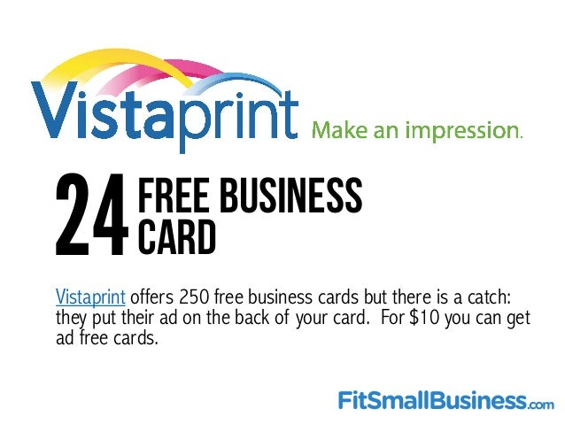 Top 25 free online tools for small business owners 23free automated trigger tool 26 vistaprint offers 250 free business cards reheart Gallery