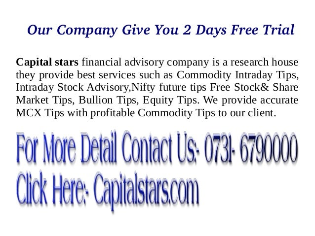 Free capital stars services for trading... Slide 2