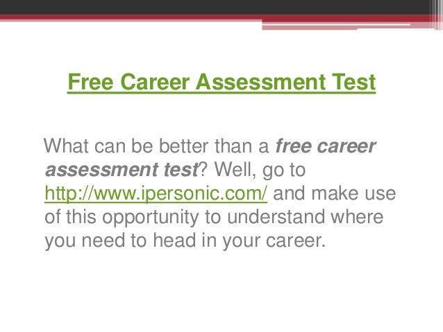 career assessment test free