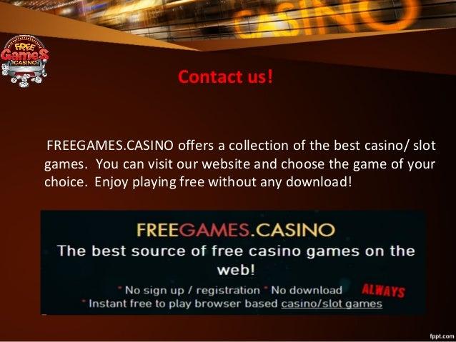 Free casino games no sign ups amg slot machines