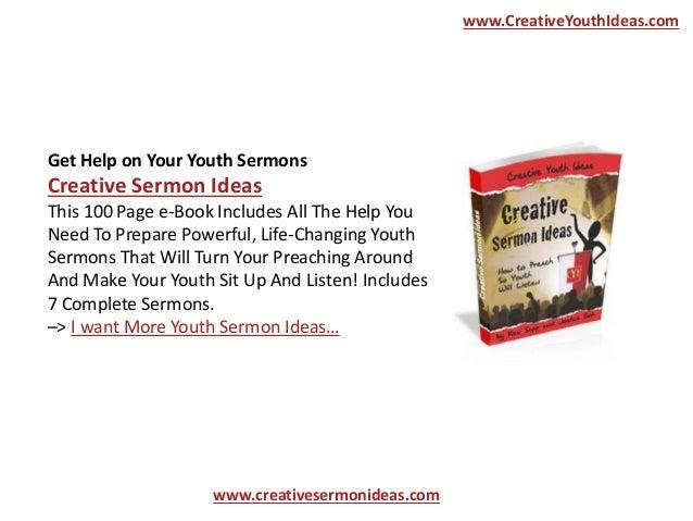 youth sermons free
