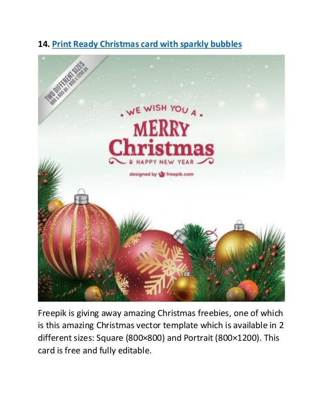 16 14 print ready christmas - Free Christmas Pictures To Print 2