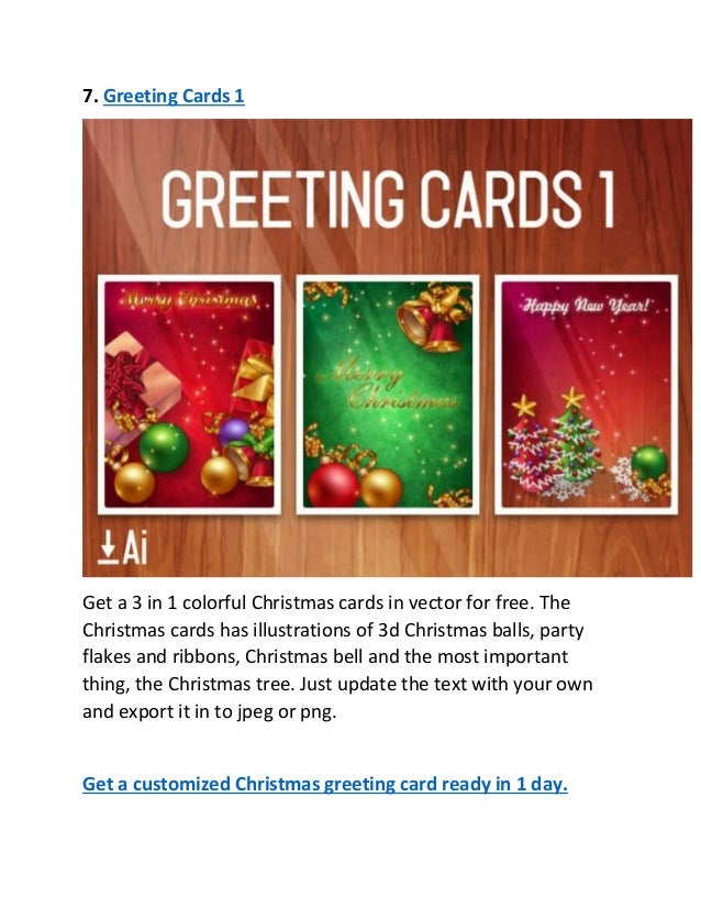 Free christmas greeting cards for 2016 9 7 greeting cards m4hsunfo