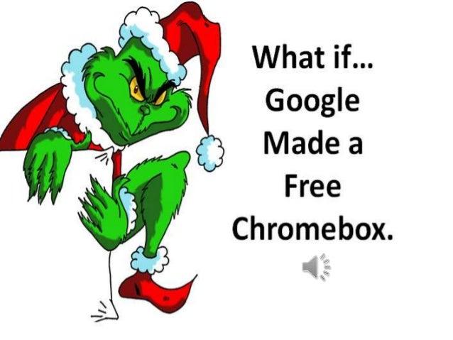 I like the free Gmail. I like free Picassa. I like free Google Docs.  What if… Google Made a Free Chromebox.