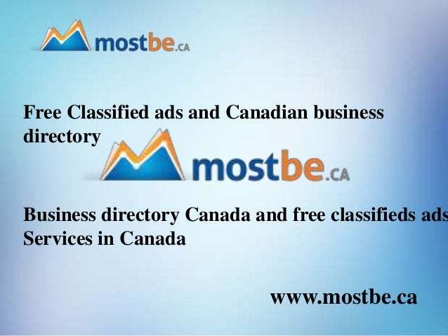Free classified ads and canadian business directory business director…