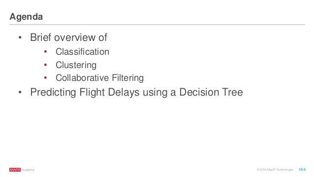 Apache Spark Machine Learning Decision Trees Slide 3