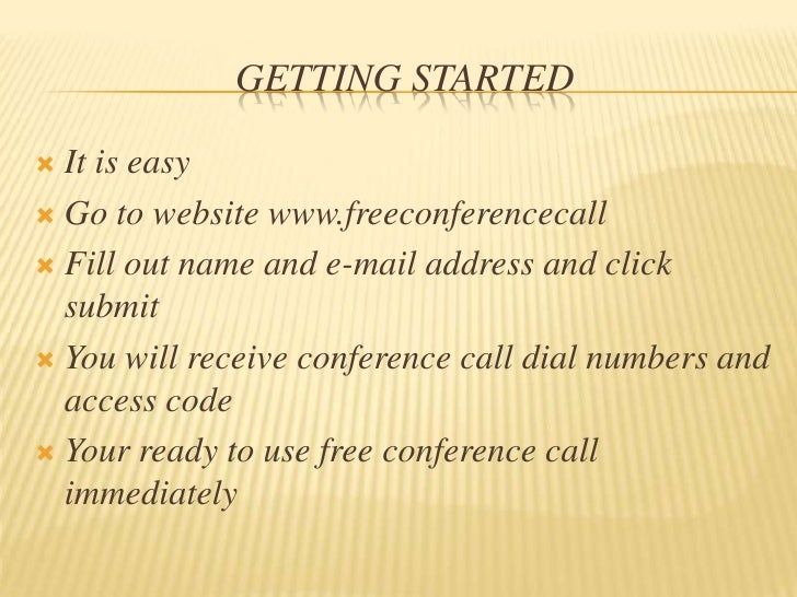 Free conference call & go tomeeting 2