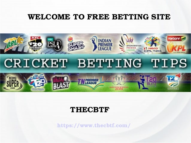 Cricket betting tips free in india all ireland club betting tips